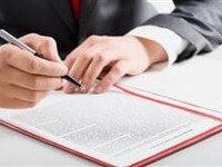 חתימה על הסכם הלוואה בנקאית
