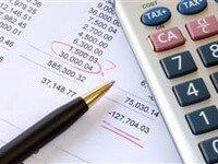 מסמך ובו חישוב של הלוואה מקרן השתלמות