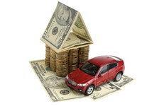 כסף של הלוואת משכנתא או הלוואות לרכב